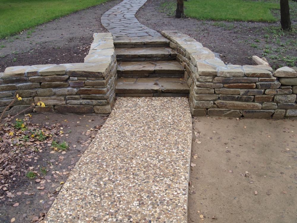 Садовые дорожки из бетона своими руками с малыми затратами фото 25